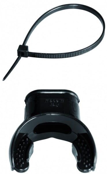Mares Mundstück Set - ergonomisch/schwarz