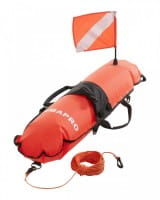 Scubapro Oberflächenboje mit Taucherflagge