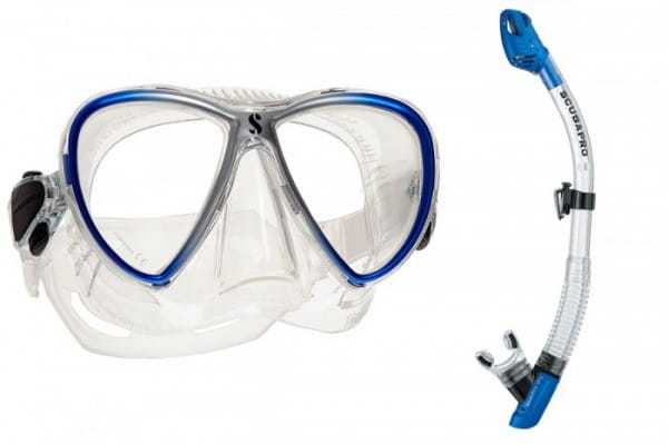 Scubapro Synergy Twin Spectra Dry Maskenset Schnorchelset