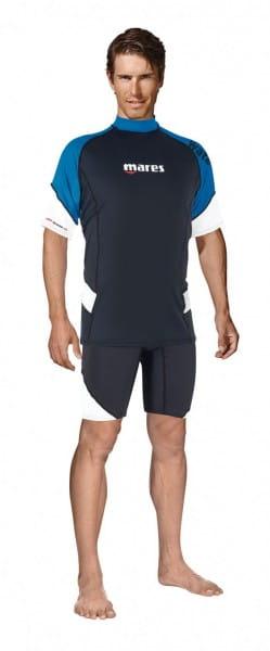 Mares Short Sleeve Loose Fit Herren Blau