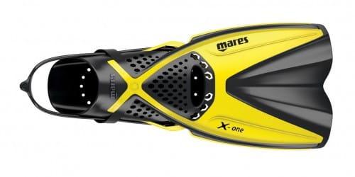 Mares X-One Schnorchelflossen gelb