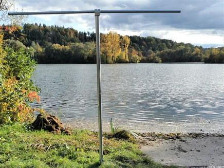 Tidydry Bodenhülse für Trockenständersystem ohne Equipment
