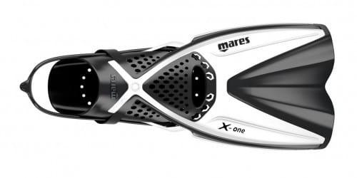 Mares X-One Schnorchelflossen Kurzflosse weiss