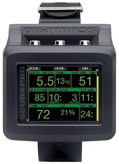 Scubapro G2 Detail Display