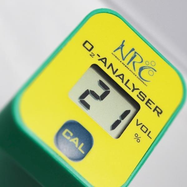 NRC O2 Analyser | Sauerstoff-Messgerät