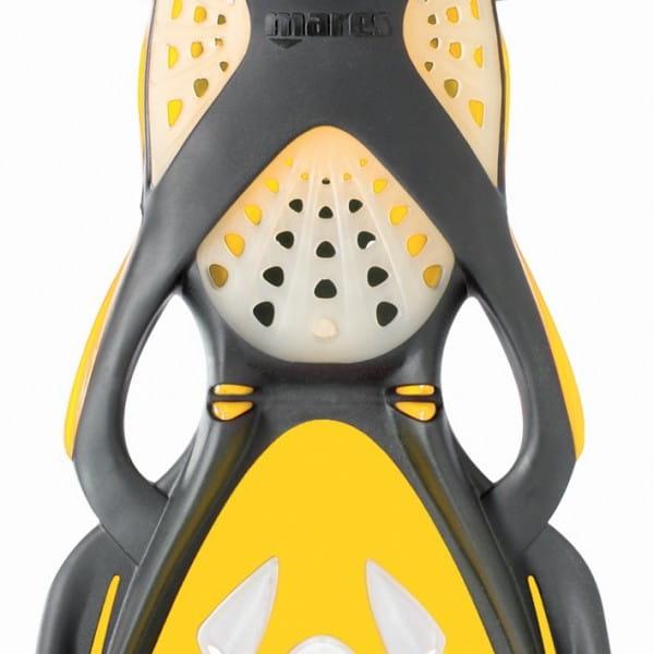 Flosse Mares X-Stream Geräteflosse Gelb Detail