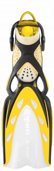 Flosse Mares X-Stream Geräteflosse Gelb